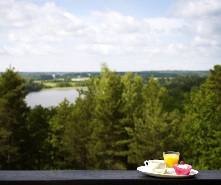 frukost med utsikt över mälaren