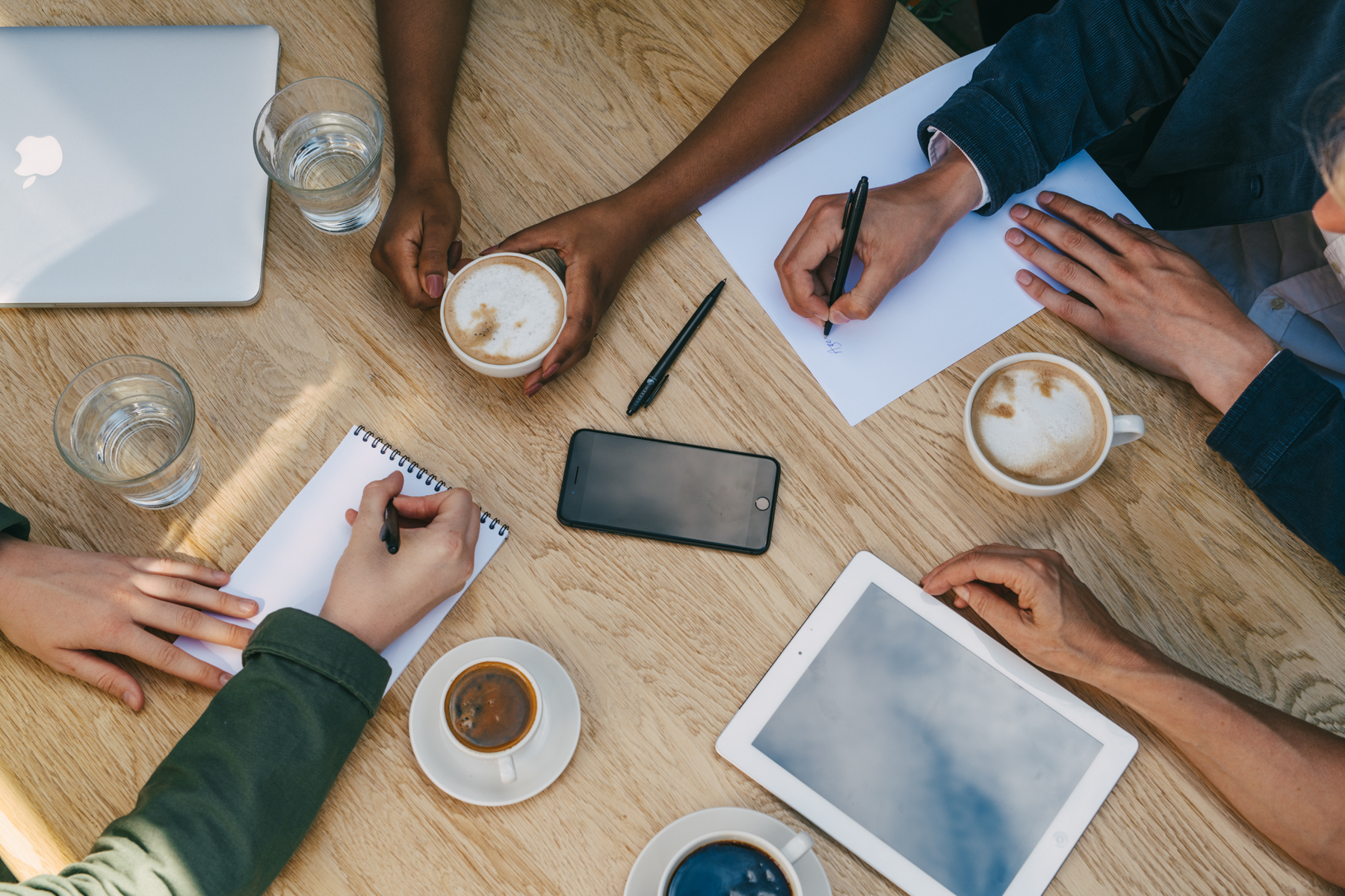 möte och planering på konferens