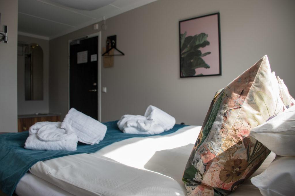 hotellrum dubbelrum