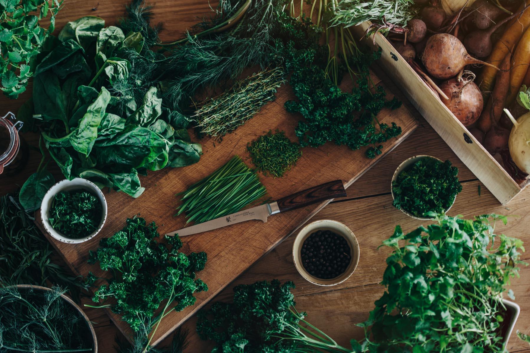 Grön mat på sigtunahöjden