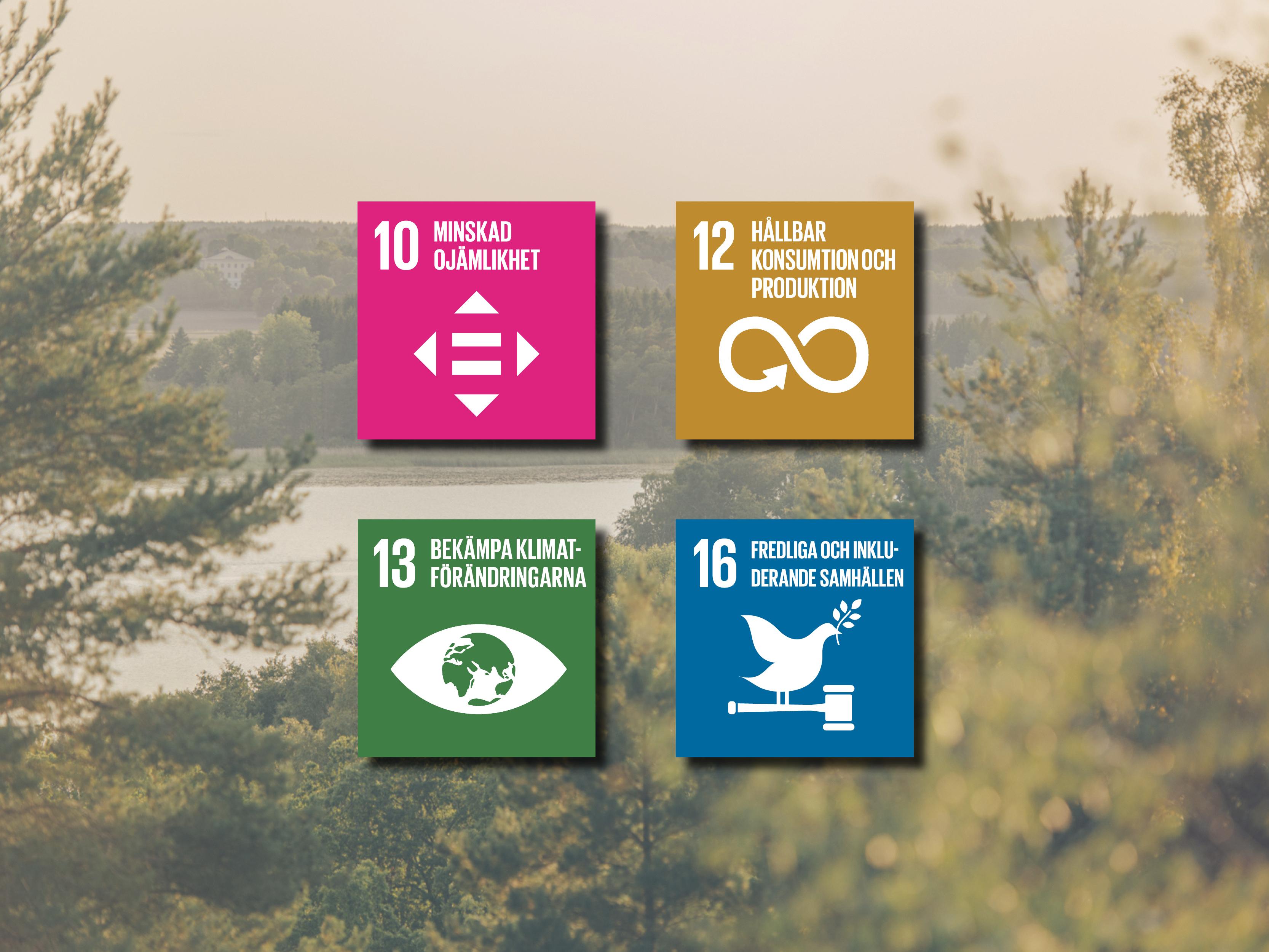 Sekundära Globala målen på Sigtunahäjden