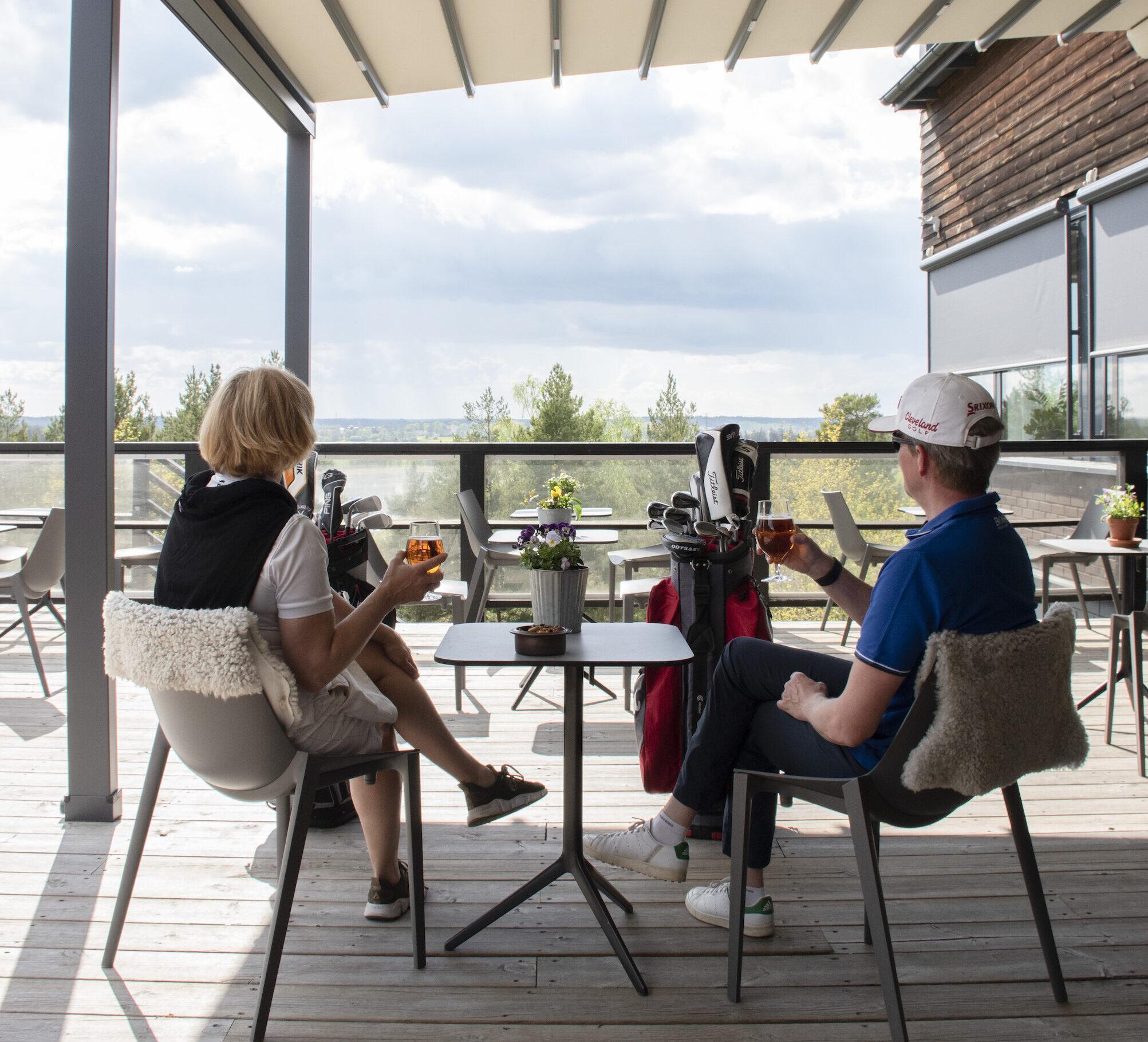 Golf veranda Sigtunahljden